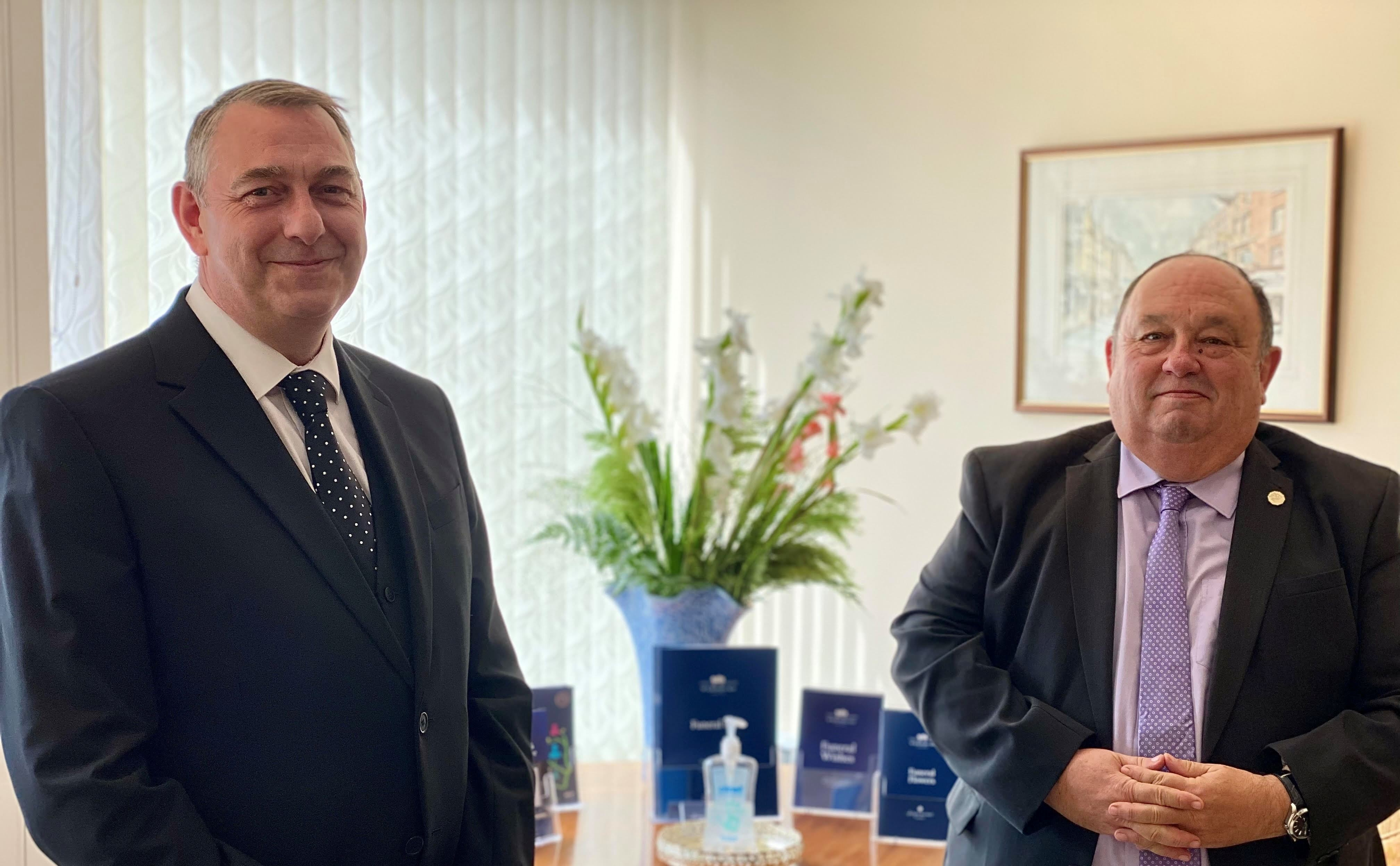 Funeral director joins with estate planning expert to offer free advice sessions