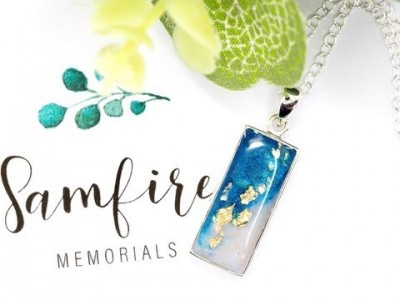 Funeral director is offering a bespoke service with jewellery made out of ashes