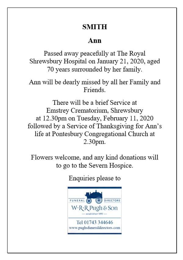 Obituary Notice 3